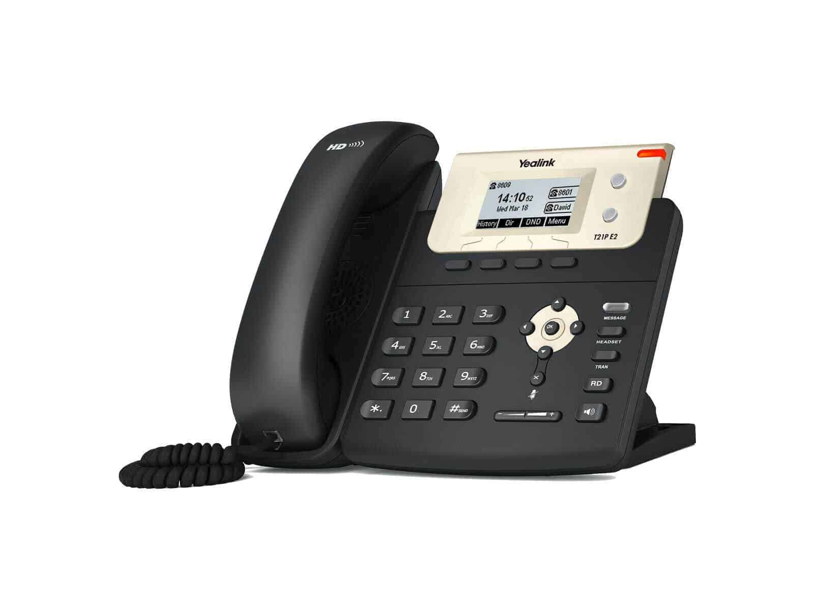 Yealink Dual-Line Entry Level VoIP Phone - Without PoE ...