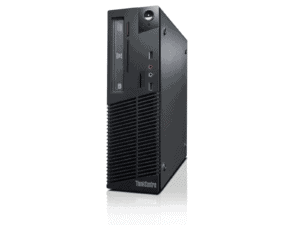 Lenovo ThinkCenter M73 Refurb Small Form Factor PC - i5, 8GB RAM, 240GB SDD, Win 10 Pro - 10B4S07H01