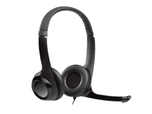 Logitech H390 USB Headset with Noise-Cancelling Mic - 981-000406