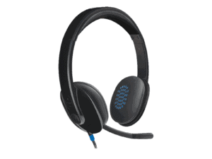 Logitech H540 USB Headset with Noise-Cancelling Mic - 981-000480