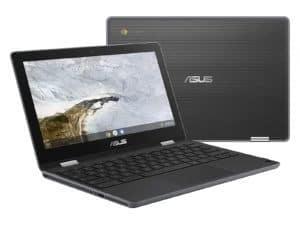 "Asus Chromebook Flip C214MA-C464G1C 11.6"" HD Laptop - Celeron, 4GB RAM, 64GB eMMC, Chrome OS - C214MA-C464G0C"