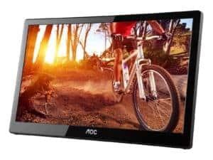 """AOC E1659FWU 15.6"""" LED Monitor - 1366 x 768, 8ms - E1659FWU"""