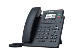 Yealink Entry-level IP Phone with 2 Lines - SIP-T31P (replaces the T21P E2 and T40P)