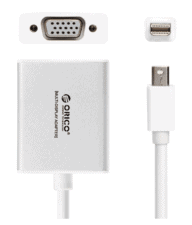 Orico Mini Display Port to VGA Adapter - Silver