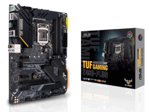 Asus TUF Gaming Z490 PLUS Motherboard for 10th Gen LGA1200 Processors - ASUS TUF GAMING Z490-PLUS