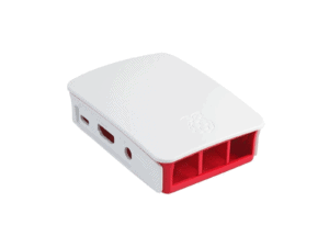 Raspberry P4 Model B Official Red and White Case - RASPI4CASEW