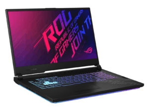 "Asus ROG Strix G712LV 17.3"" FHD Gaming Laptop - i7, 16GB RAM, 512GB + 512GB SSD, Win 10 Home - 90NR04A1-M02370"
