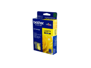 Brother Yellow Ink Cartridge MFC490CW, MFC795CW, DCP6690CW, MFC-6490CW - LC67Y