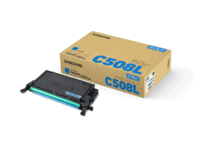 Samsung CLT-C508L High Yield Cyan Toner Cartridge - SU058A