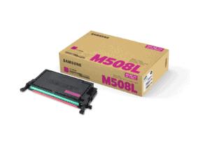 Samsung CLT-M508L High Yield Magenta Toner Cartridge - SU325A