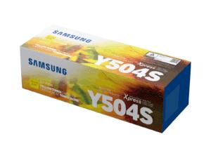 Samsung CLT-Y504S Yellow Toner Cartridge - SU504A