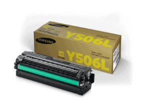 Samsung CLT-Y506L High Yield Yellow Toner Cartridge - SU517A