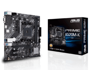 Asus Prime A520M-K AM4 Motherboard