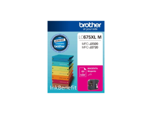 Brother LC-675XLM High Yield Magenta Cartridge
