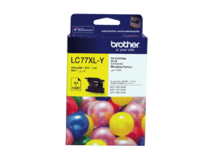 Brother LC-77XLY High Yield Yellow Ink Cartridge