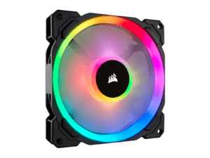 Corsair LL140 RGB 140mm Dual Light Loop RGB LED PWM 600 Cooling Fan - Single